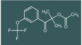 2-methyl-1-oxo-1-(3-(trifluoromethoxy)phenyl)propan-2-yl acetate
