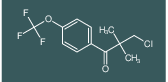 3-chloro-2,2-dimethyl-1-(4-(trifluoromethoxy)phenyl)propan-1-one