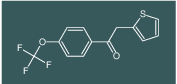 2-(thiophen-2-yl)-1-(4-(trifluoromethoxy)phenyl)ethanone