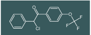 2-chloro-2-phenyl-1-(4-(trifluoromethoxy)phenyl)ethanone