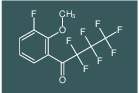 2,2,3,3,4,4,4-heptafluoro-1-(3-fluoro-2-methoxyphenyl)butan-1-one