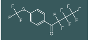 2,2,3,3,4,4,4-heptafluoro-1-(4-((trifluoromethyl)thio)phenyl)butan-1-one