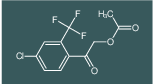 2-(4-chloro-2-(trifluoromethyl)phenyl)-2-oxoethyl acetate