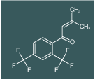 1-(2,4-bis(trifluoromethyl)phenyl)-3-methylbut-2-en-1-one