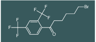 1-(2,4-bis(trifluoromethyl)phenyl)-6-bromohexan-1-one