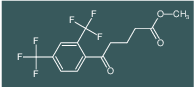 methyl 5-(2,4-bis(trifluoromethyl)phenyl)-5-oxopentanoate