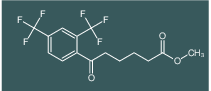 methyl 6-(2,4-bis(trifluoromethyl)phenyl)-6-oxohexanoate