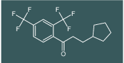 1-(2,4-bis(trifluoromethyl)phenyl)-3-cyclopentylpropan-1-one