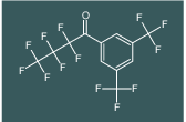1-(3,5-bis(trifluoromethyl)phenyl)-2,2,3,3,4,4,4-heptafluorobutan-1-one