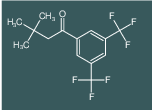 1-(3,5-bis(trifluoromethyl)phenyl)-3,3-dimethylbutan-1-one