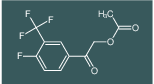 2-(4-fluoro-3-(trifluoromethyl)phenyl)-2-oxoethyl acetate