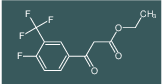 ethyl 3-(4-fluoro-3-(trifluoromethyl)phenyl)-3-oxopropanoate