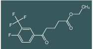 ethyl 5-(4-fluoro-3-(trifluoromethyl)phenyl)-5-oxopentanoate