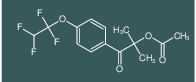 2-methyl-1-oxo-1-(4-(1,1,2,2-tetrafluoroethoxy)phenyl)propan-2-yl acetate