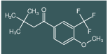 1-(4-methoxy-3-(trifluoromethyl)phenyl)-3,3-dimethylbutan-1-one