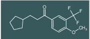 3-cyclopentyl-1-(4-methoxy-3-(trifluoromethyl)phenyl)propan-1-one