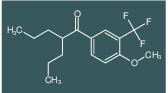 1-(4-methoxy-3-(trifluoromethyl)phenyl)-2-propylpentan-1-one