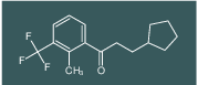 3-cyclopentyl-1-(2-methyl-3-(trifluoromethyl)phenyl)propan-1-one