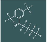 1-(2,5-Bis-trifluoromethyl-phenyl)-2,2,3,3,4,4,5,5,5-nonafluoro-pentan-1-on