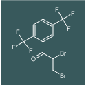 1-(2,5-bis(trifluoromethyl)phenyl)-2,3-dibromopropan-1-one