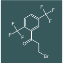 1-(2,5-bis(trifluoromethyl)phenyl)-3-bromopropan-1-one
