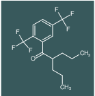 1-(2,5-bis(trifluoromethyl)phenyl)-2-propylpentan-1-one