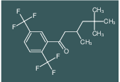 1-(2,5-bis(trifluoromethyl)phenyl)-3,5,5-trimethylhexan-1-one