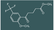 methyl 5-(2-methoxy-5-(trifluoromethyl)phenyl)-5-oxopentanoate