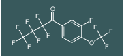2,2,3,3,4,4,4-heptafluoro-1-(3-fluoro-4-(trifluoromethoxy)phenyl)butan-1-on
