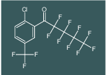 1-(2-chloro-5-(trifluoromethyl)phenyl)-2,2,3,3,4,4,5,5,5-nonafluoropentan-1