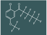 1-(2-chloro-5-(trifluoromethoxy)phenyl)-2,2,3,3,4,4,5,5,5-nonafluoropentan-