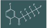 1-(2,5-difluorophenyl)-2,2,3,3,4,4,5,5,5-nonafluoropentan-1-one