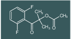 1-(2,6-difluorophenyl)-2-methyl-1-oxopropan-2-yl acetate