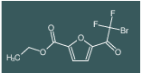 ethyl 5-(2-bromo-2,2-difluoroacetyl)furan-2-carboxylate