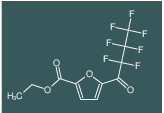 ethyl 5-(2,2,3,3,4,4,4-heptafluorobutanoyl)furan-2-carboxylate