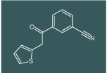 3-(2-(thiophen-2-yl)acetyl)benzonitrile