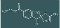 ethyl 4-(2-acetoxy-2-methylpropanoyl)benzoate