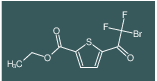 ethyl 5-(2-bromo-2,2-difluoroacetyl)thiophene-2-carboxylate