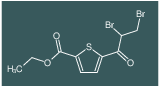 ethyl 5-(2,3-dibromopropanoyl)thiophene-2-carboxylate