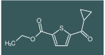 ethyl 5-(cyclopropanecarbonyl)thiophene-2-carboxylate
