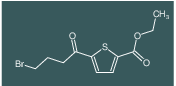 ethyl 5-(4-bromobutanoyl)thiophene-2-carboxylate