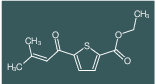 ethyl 5-(3-methylbut-2-enoyl)thiophene-2-carboxylate