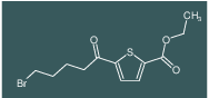 ethyl 5-(5-bromopentanoyl)thiophene-2-carboxylate