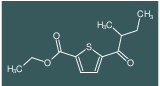 ethyl 5-(2-methylbutanoyl)thiophene-2-carboxylate