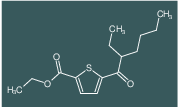 ethyl 5-(2-ethylhexanoyl)thiophene-2-carboxylate