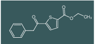 ethyl 5-(2-phenylacetyl)thiophene-2-carboxylate