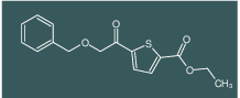 ethyl 5-(2-(benzyloxy)acetyl)thiophene-2-carboxylate