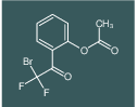 2-(2-bromo-2,2-difluoroacetyl)phenyl acetate