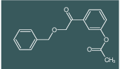 3-(2-(benzyloxy)acetyl)phenyl acetate