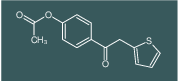 4-(2-(thiophen-2-yl)acetyl)phenyl acetate